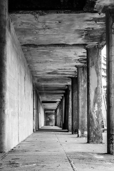 Walkway outside the Battery Russell,