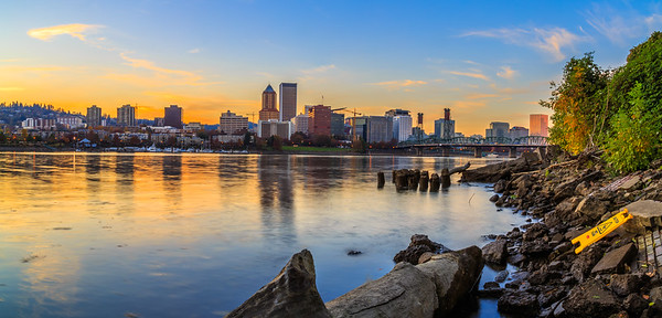 Golden Hour, Portland, Oregon