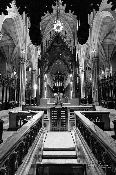 Just returned from a trip back home to New York.    Interior shot of the beautiful St. Patricks Cathedral, the architectural detail is amazing. @stpatrickscathedral   Photos by:  @RickBeldenPhotography   .................
