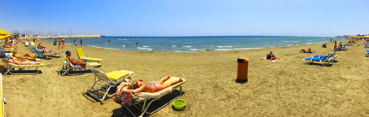 Finikodes beach in Larnaca