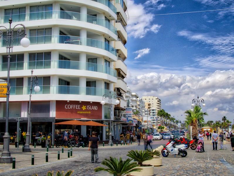 A street in Larnaca