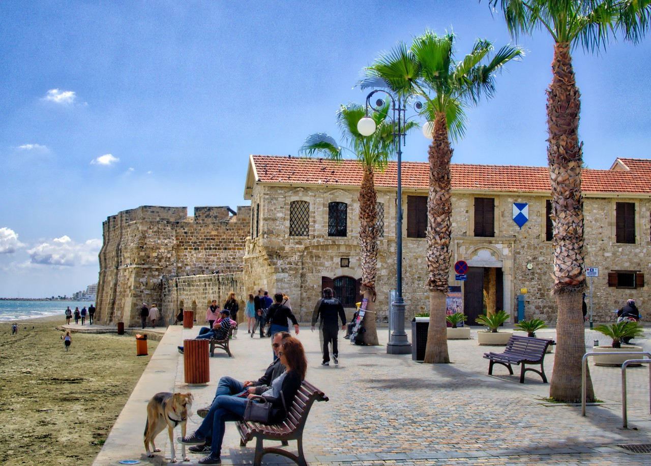 A castle in Larnaca