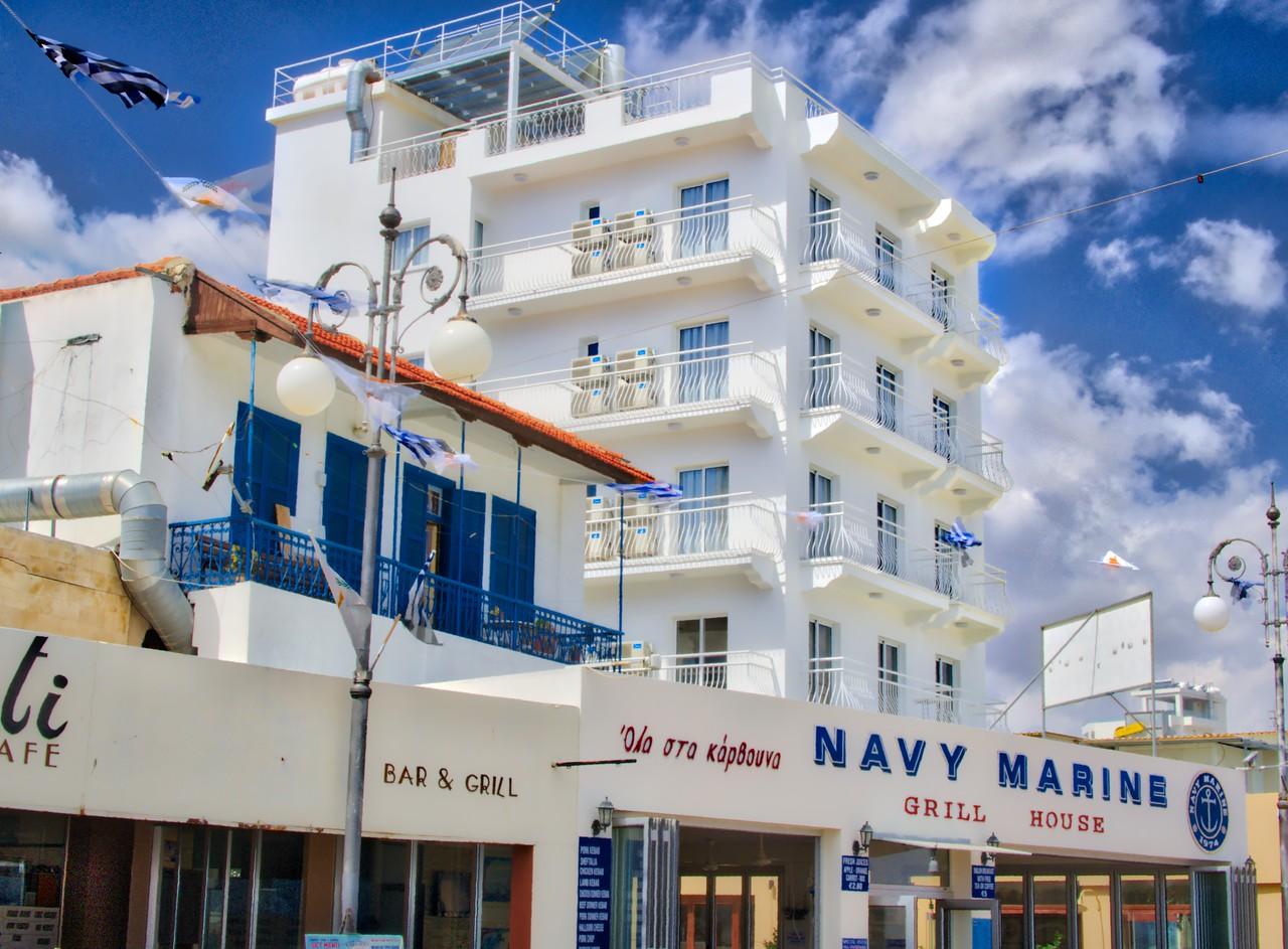 A hotel on Finikoudes street