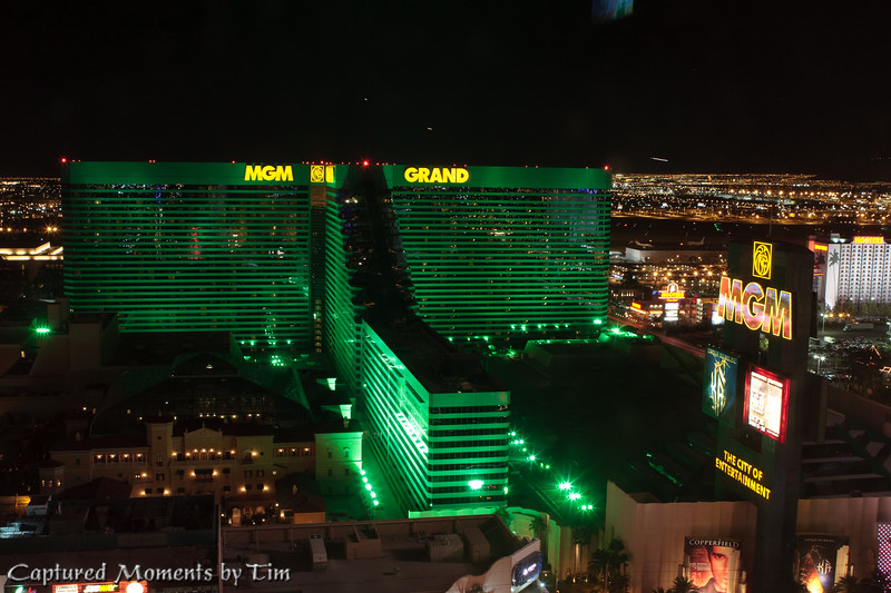 MGM grand from Above