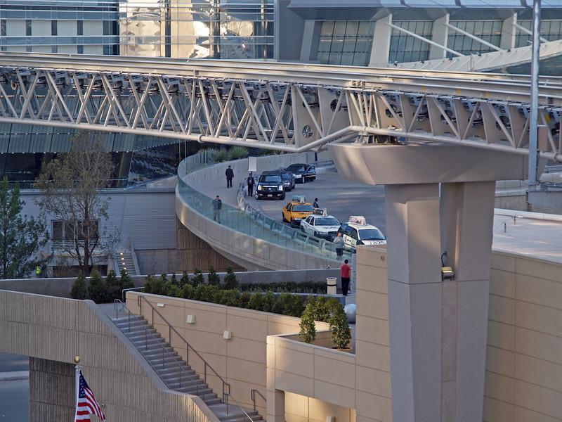 Aria West Entrance in Las Vegas - 18 Dec 2009