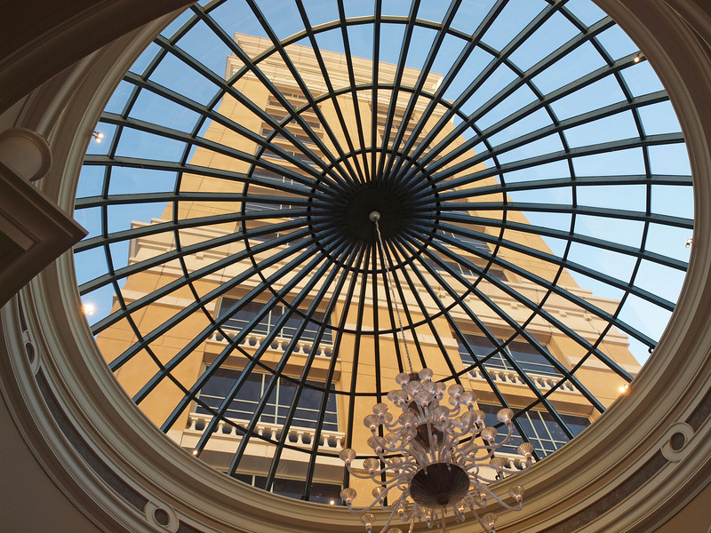 Skylight at The Bellagio In Las Vegas - 18 Dec 2009