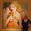 Nancy at Caesar's in Las Vegas - 17 Dec 2010