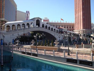 Outside the Venetian.