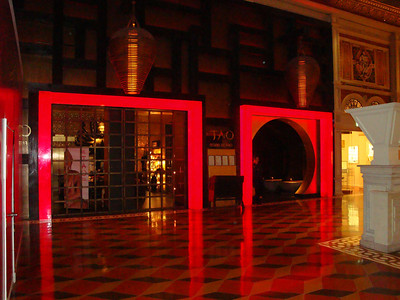 The Tao Restaurant in The Venetian.