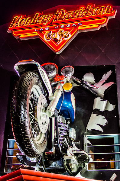 Harley Davidson in Las Vegas