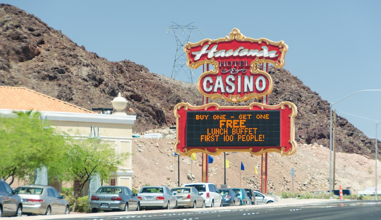 Random hotel outside Las Vegas