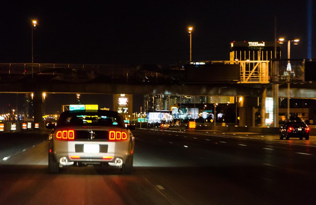 Approaching Las Vegas
