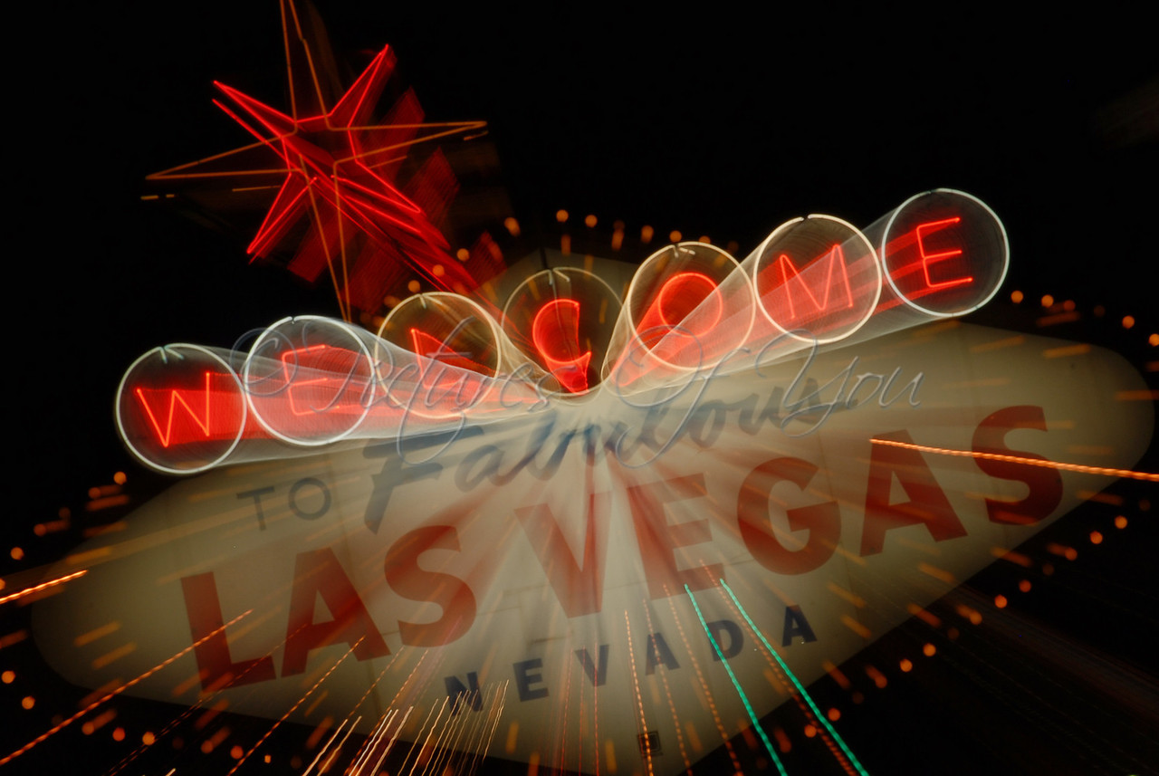 Vegas sign fun