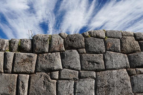 Incan ruins of Sacsayhuaman, Cusco, Peru