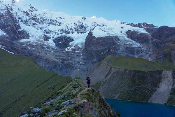 Above Lake Humantay