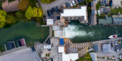 Dam in Fishtoen from Above
