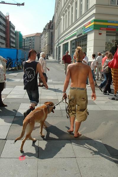 Punks in Leipzig
