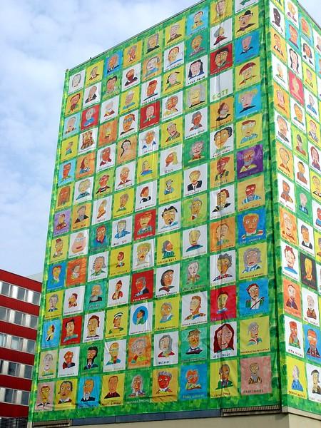 Building in Leipzig