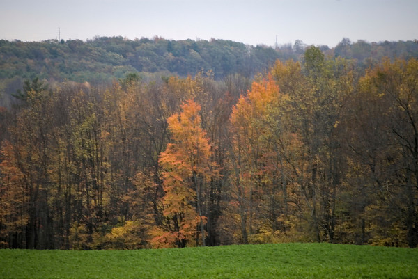 En route to Letchworth State Park, NY