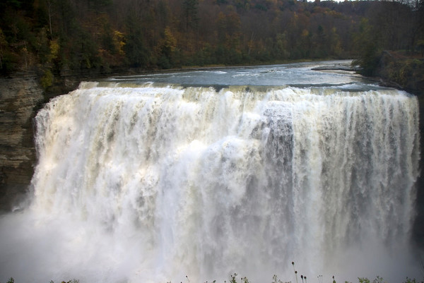 Letchworth State Park, NY, Middle Falls
