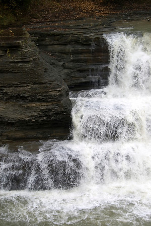 Letchworth State Park, NY close up Lower Falls.
