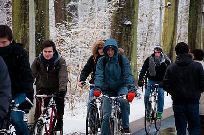 Leuven in Snow