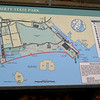 Map of Liberty State Park.  Most of my pictures were taken from the red line called Liberty Walk.  A lot of history here.