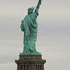 The backside of Lady Liberty.  You need to be on the water to see the front side.