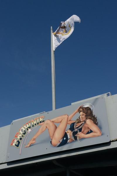 Ships mascot.