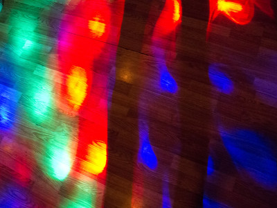 Lights on a Dance Floor
