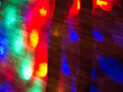Lights on a Dance Floor