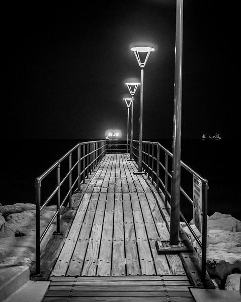 Pier in Limassol Marina