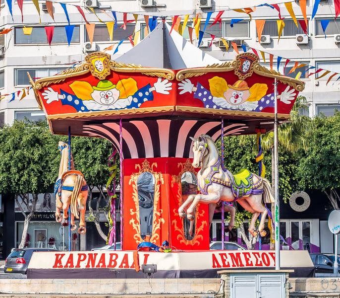 Carousel in Limassol, Cyprus