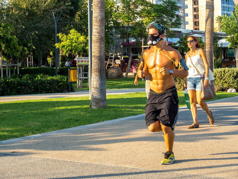 Runner in Limassol