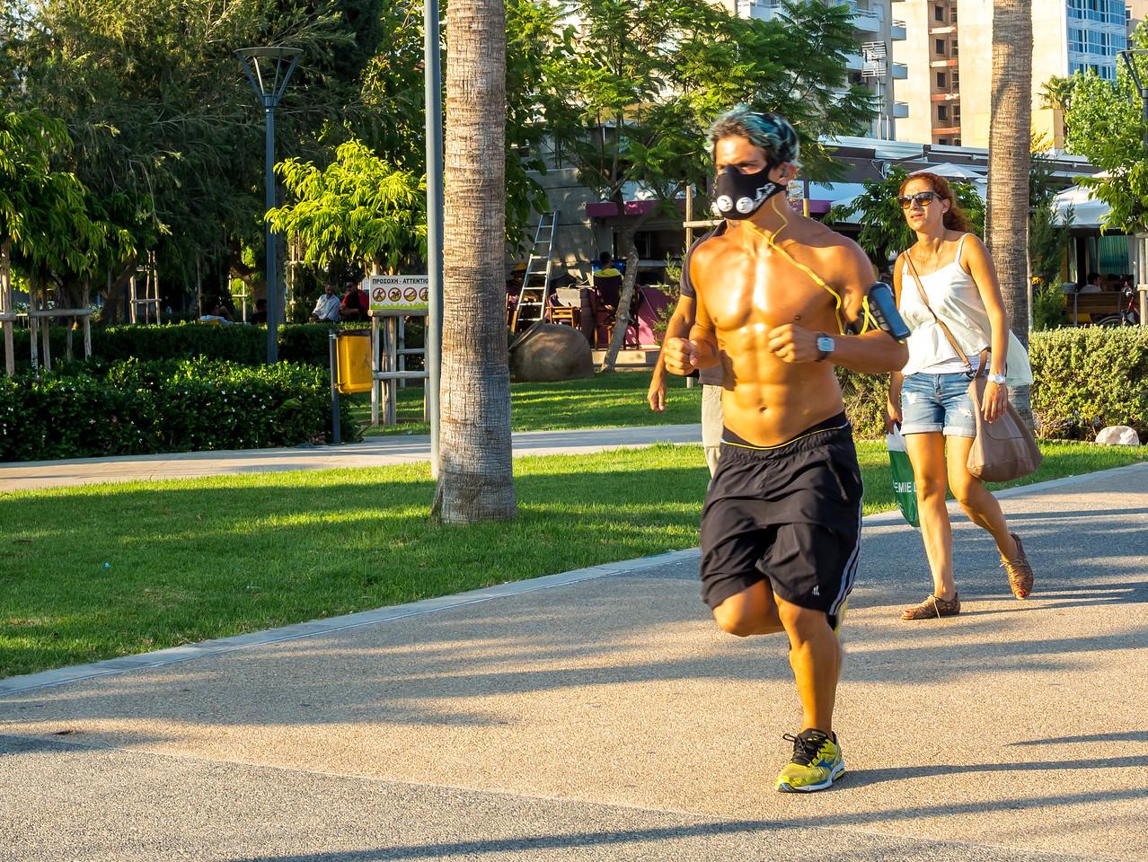 Runner in Limassol