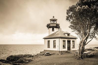 Lime Kiln Lighthouse - San Juan Island, Washington