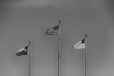 First Baptist Church Flying the Flags of God, Counttry, State