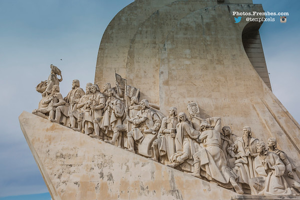 Monument to the Discoveries - The Belém District of Lisbon