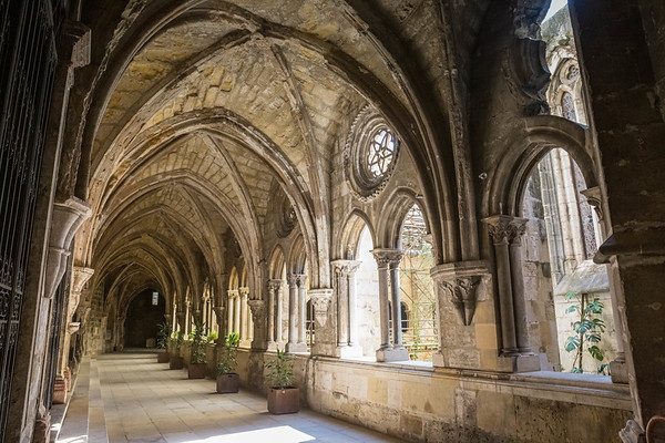 The Cloisters of Lisbon Cathedral