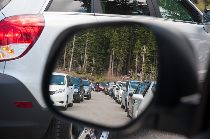 Welcome to Memorial Day traffic in Yosemite