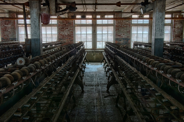 Machinery on the main floor.