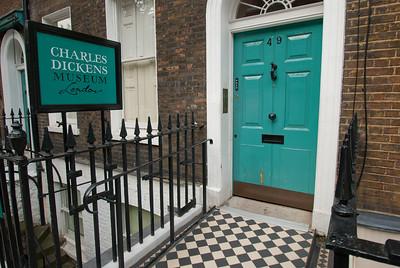Charles Dickens Museum - 48 Doughty Street London, UK