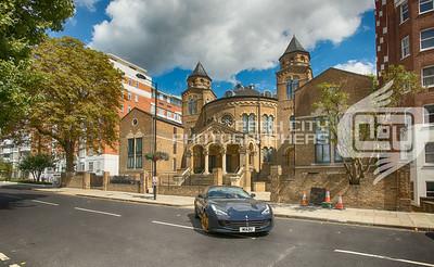 Abbey Road Church - and a sports car
