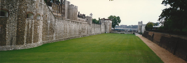 Moat Surrounding Tower of London