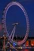Illuminated London Eye - London, England