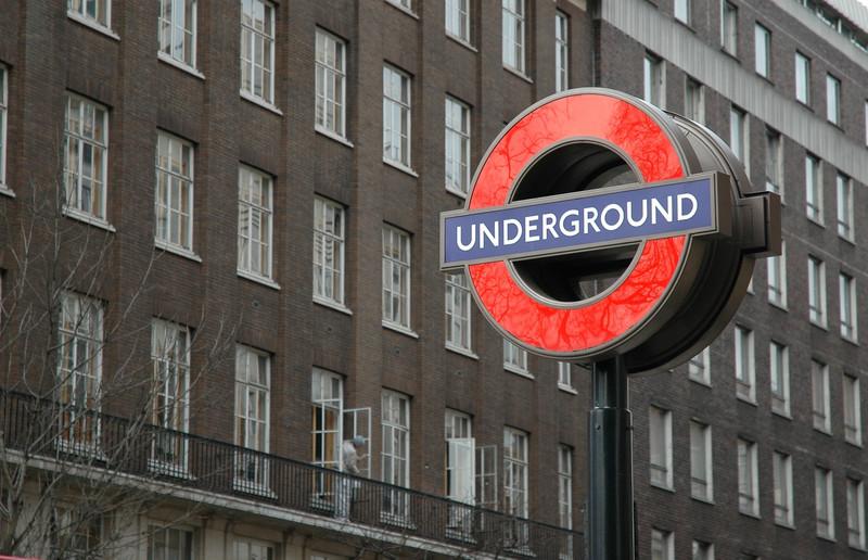 Obligatory Underground sign shot.