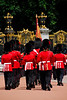 Royal Guards with Rifles and Bayonettes 2 - Changing of the Guards - London, England