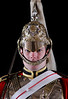 British Royal Guard standing at attention - <br /> London, England