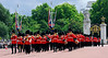 Royal Marching Band in uniform - Changing of the Guards - Buckingham Palace - London, England