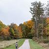 101120.  A walker enjoying the fall color.